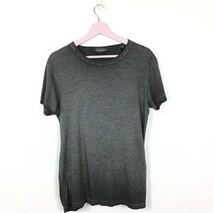 Belstaff distressed burnout t-shirt M